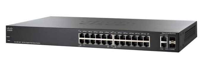 CISCO SG250-26HP-K9-UK SG250-26HP-K9 MANAGED L2 GIGABIT ETHERNET POWER OVER (POE) BLACK