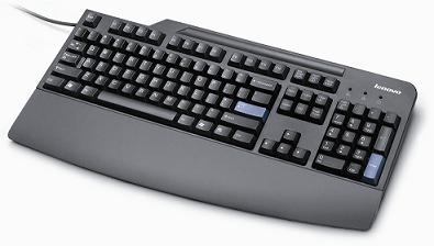 LENOVO 89P8553 USB NORWEGIAN BLACK KEYBOARD