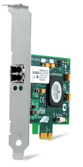 ALLIED TELESIS PCI-E, LC, 1000 MBIT/S, 1.5W, METALLIC/GREEN