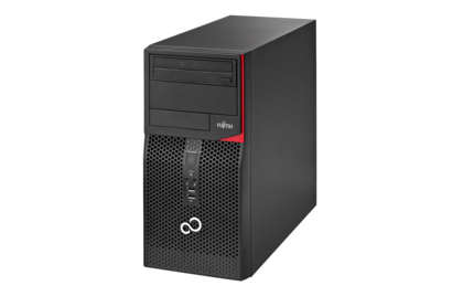 FUJITSU ESPRIMO P556 3.3GHZ G4400 DESKTOP BLACK, RED PC