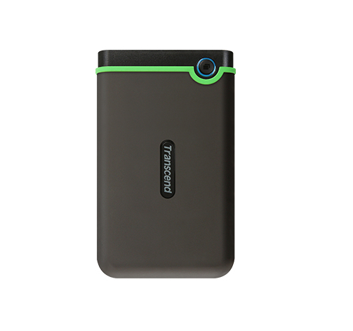 TRANSCEND STOREJET 25M3 2000GB GREEN, GREY EXTERNAL HARD DRIVE