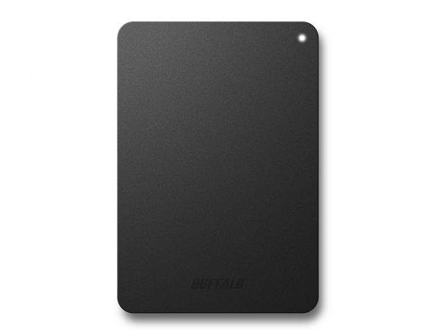 BUFFALO HD-PNF2.0U3GB-EU MINISTATION SAFE, 2TB 2000GB BLACK EXTERNAL HARD DRIVE