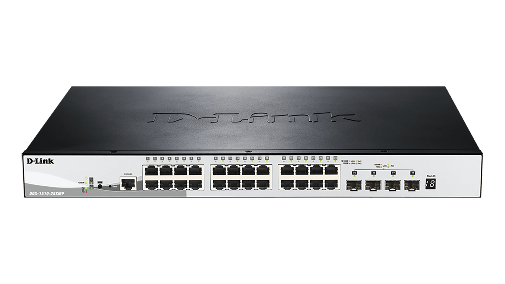 D-LINK DGS-1510-28XMP MANAGED NETWORK SWITCH