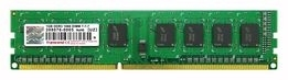 TRANSCEND 1GB, DDR3, PC3-10664, 240PIN DIMM, CL9, 128MX8 1GB DDR3 MEMORY MODULE