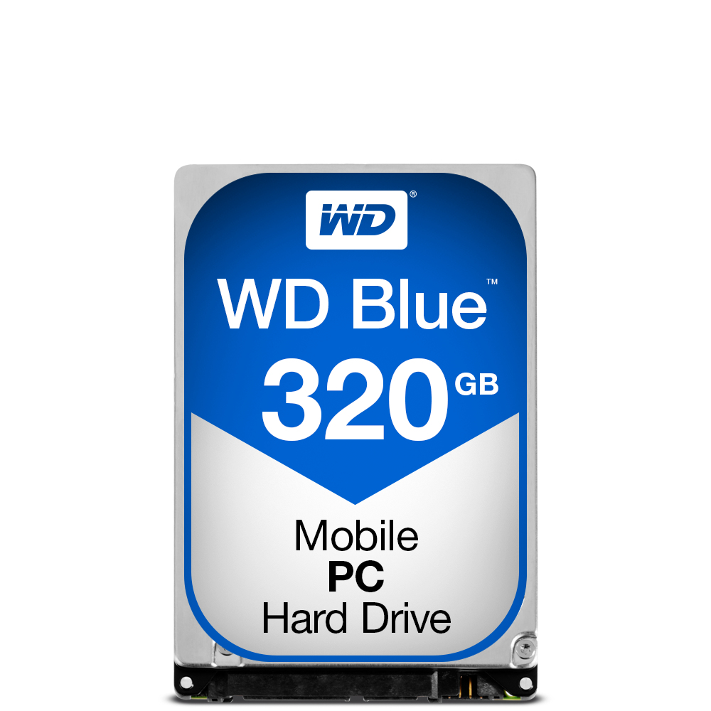 WESTERN DIGITAL BLUE PC MOBILE HDD 320GB SERIAL ATA III INTERNAL HARD DRIVE