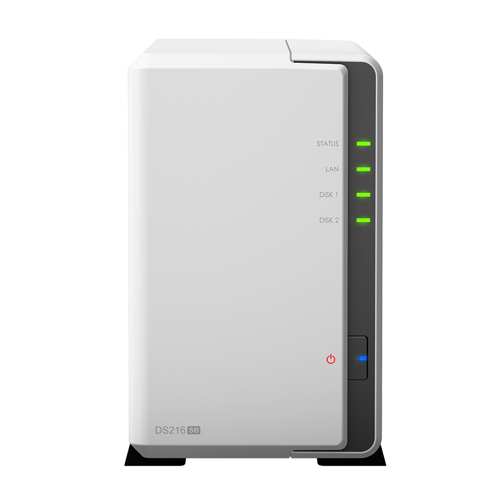 SYNOLOGY DISKSTATION DS216SE NAS COMPACT ETHERNET LAN WHITE