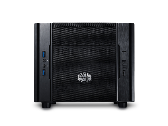 COOLER MASTER ELITE 130 CUBE BLACK COMPUTER CASE