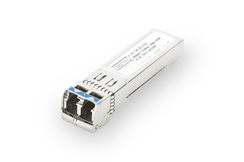 DIGITUS DN-81200 PROFESSIONAL MINI GBIC (SFP) MODULE, 10GBPS, 0.3KM, WITH DDM FEATURE