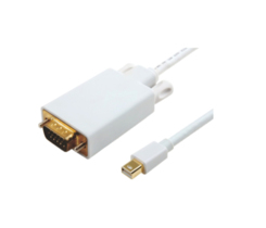 MICROCONNECT MDPVGA4W MINI DISPLAYPORT-VGA M-M WHITE