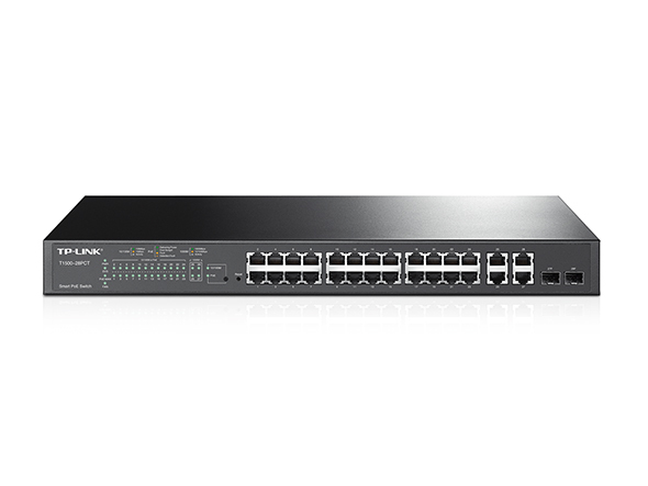 TP-LINK T1500-28PCT MANAGED NETWORK SWITCH