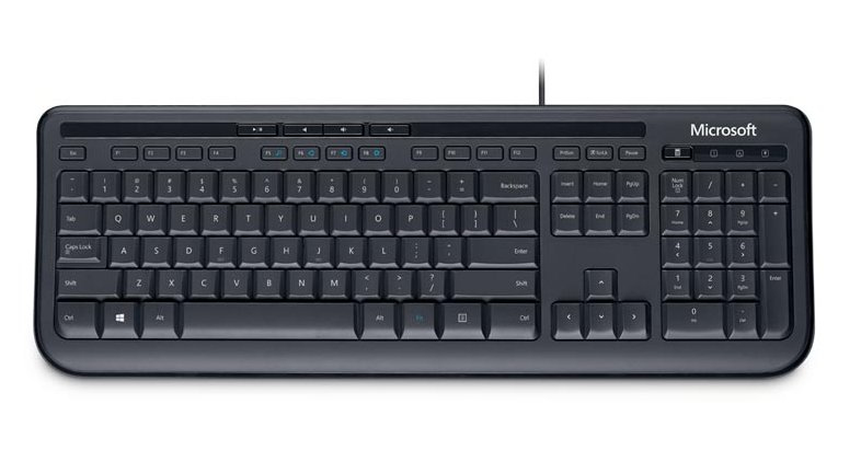 MICROSOFT ANB-00008 WIRED KEYBOARD 600