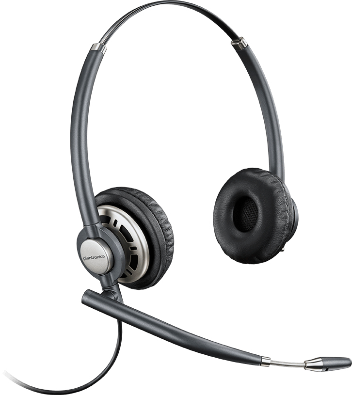 PLANTRONICS 78716-101 ENCOREPRO HW 720D BINAURAL HEAD-BAND BLACK, SILVER HEADSET