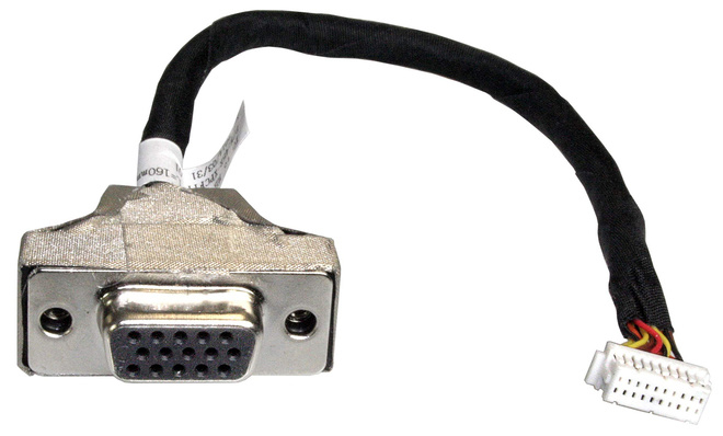 SHUTTLE PVG01 15-PIN MINI D-SUB 2 X 10-PIN BLACK,STAINLESS STEEL,WHITE CABLE INTERFACE/GENDER ADAPTER