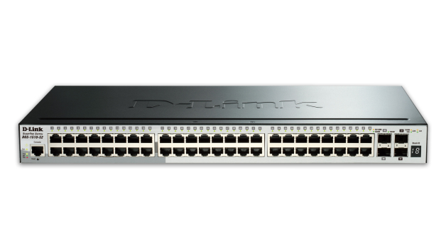 D-LINK DGS-1510-52X MANAGED NETWORK SWITCH L3 GIGABIT ETHERNET 1U BLACK