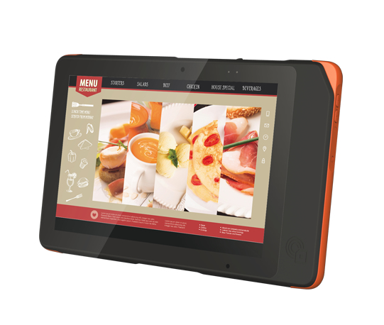 ADVANTECH AIM-37AT-S7GR0 AIM-37 32GB BLACK, ORANGE TABLET