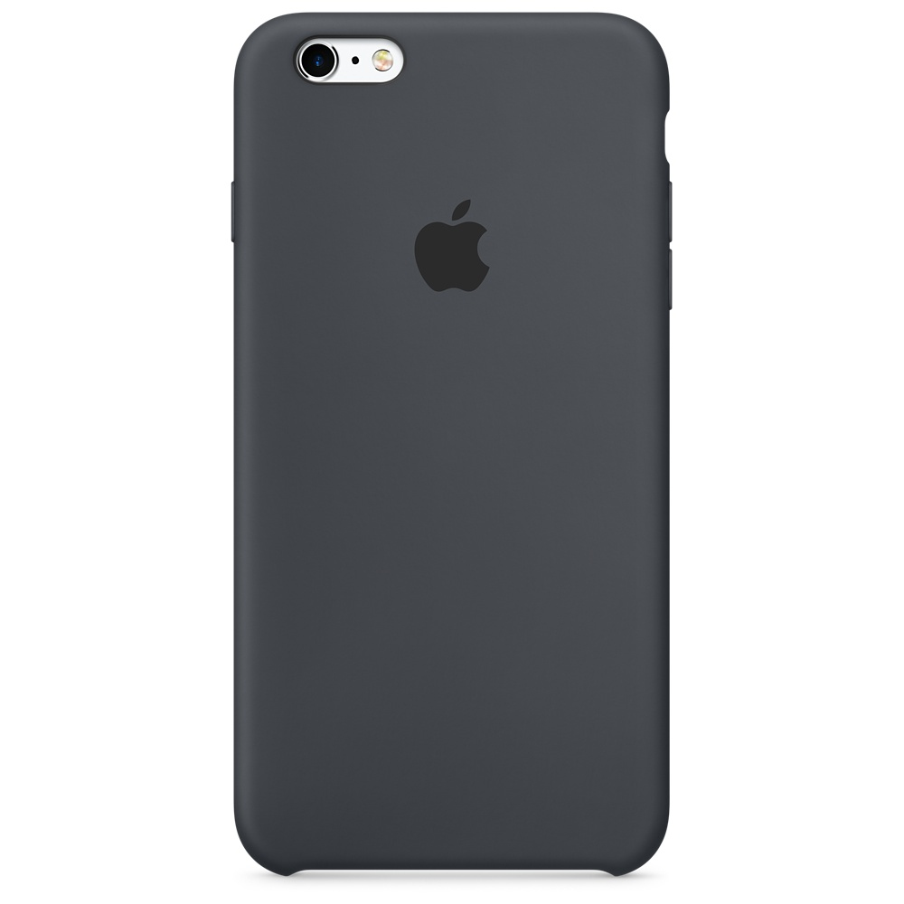 APPLE IPHONE 6S PLUS SILICONE CASE - CHARCOAL GREY
