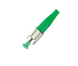 MICROCONNECT FIBFCAPC FC/APC SM SIMPLEX CONNECTOR GREEN WIRE
