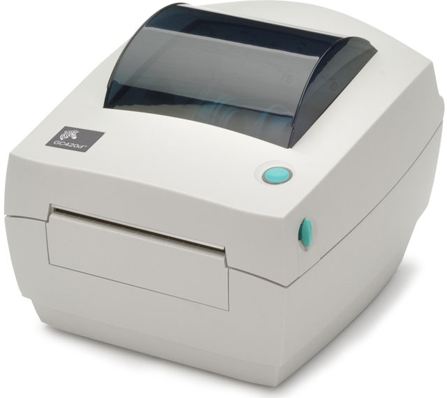 ZEBRA GC420D DIRECT THERMAL / TRANS 203 X 203DPI LABEL PRINTER