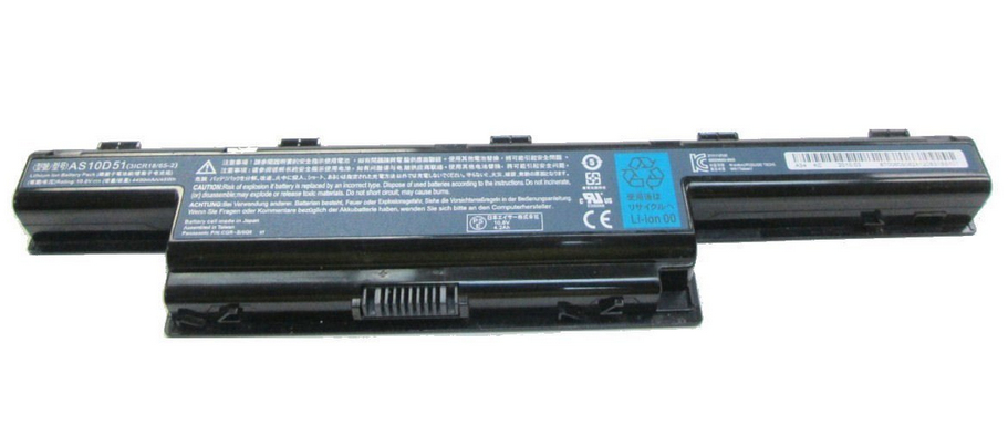 ACER LI-ION 6-CELL 4400MAH LITHIUM-ION (LI-ION) 11.1V RECHARGEABLE BATTERY