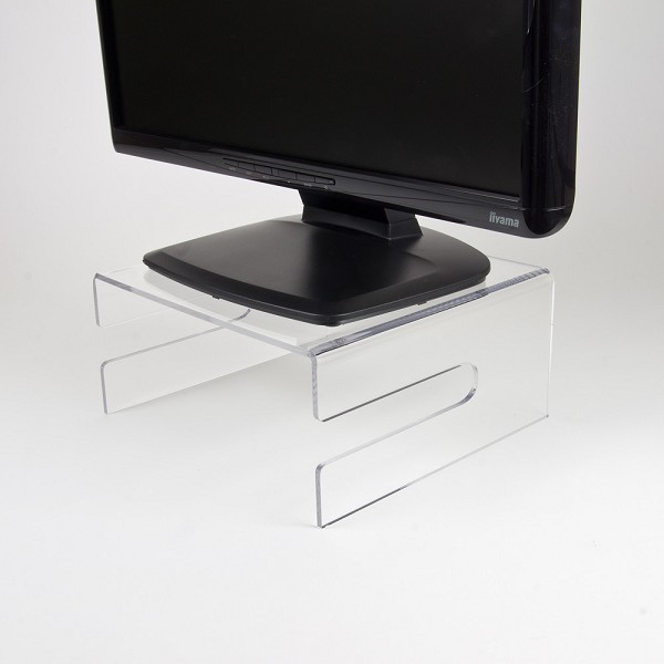 NEWSTAR NSMONITOR50 TRANSPARENT MONITOR STAND (CLEAR ACRYLIC)