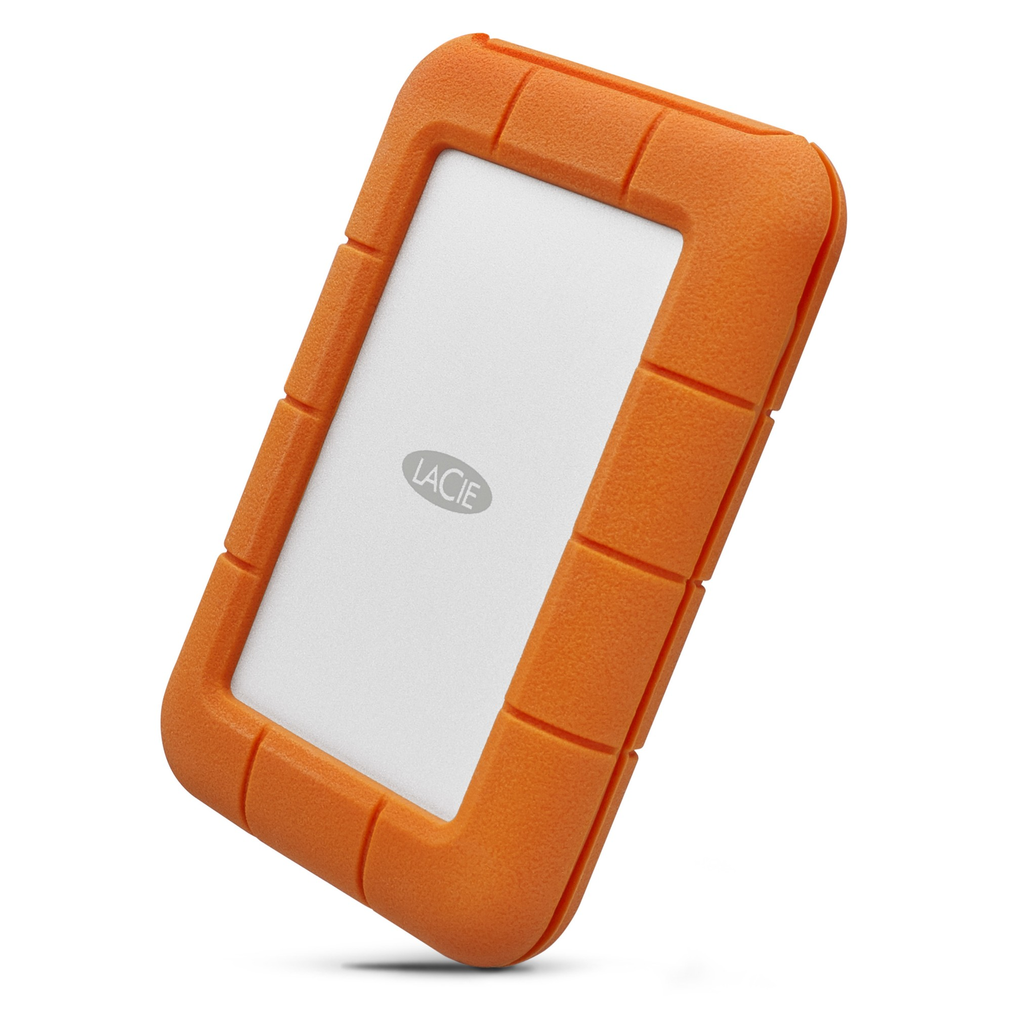 LACIE STFR5000800 RUGGED USB-C 5000GB GREY, YELLOW EXTERNAL HARD DRIVE