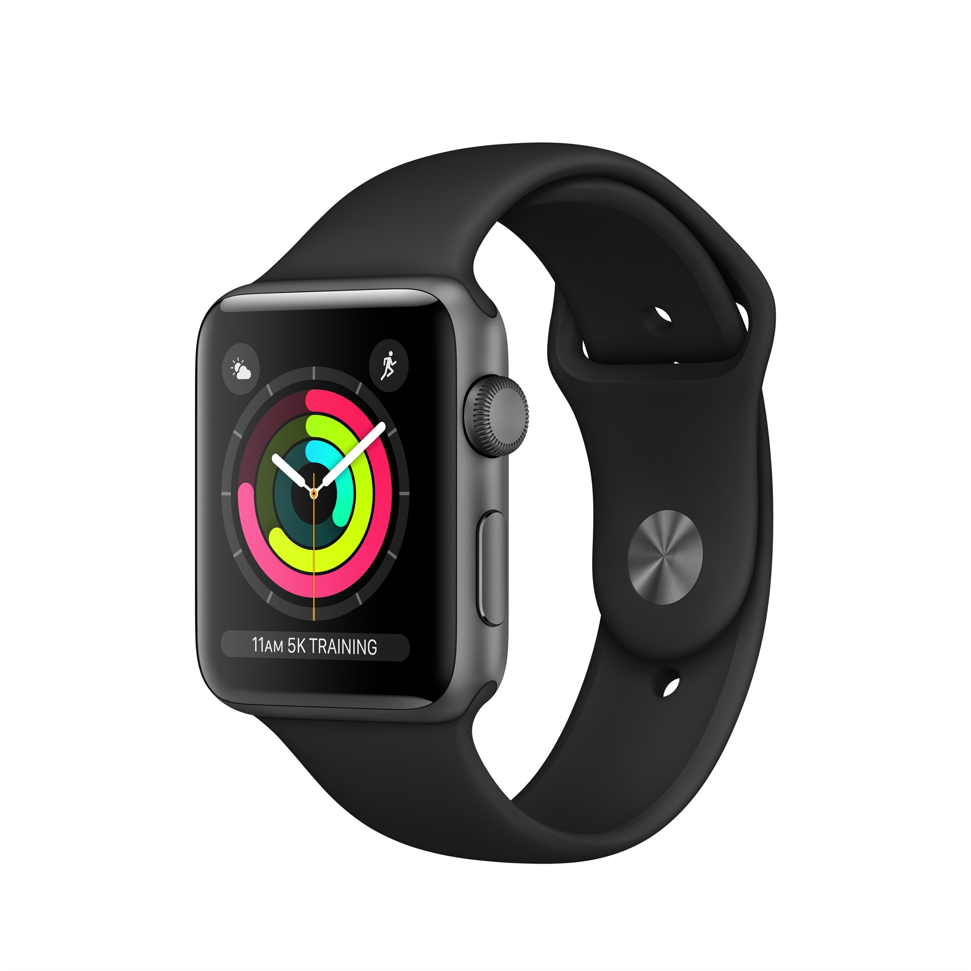 APPLE WATCH SERIES 3 OLED GPS (SATELLITE) GREY SMARTWATCH