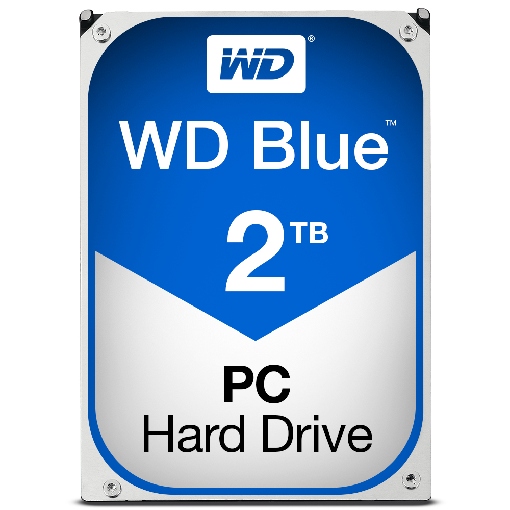 WESTERN DIGITAL BLUE HDD 2000GB SERIAL ATA III INTERNAL HARD DRIVE