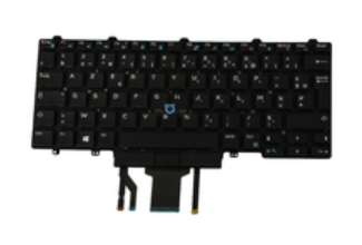 DELL W93F7 KEYBOARD NOTEBOOK SPARE PART