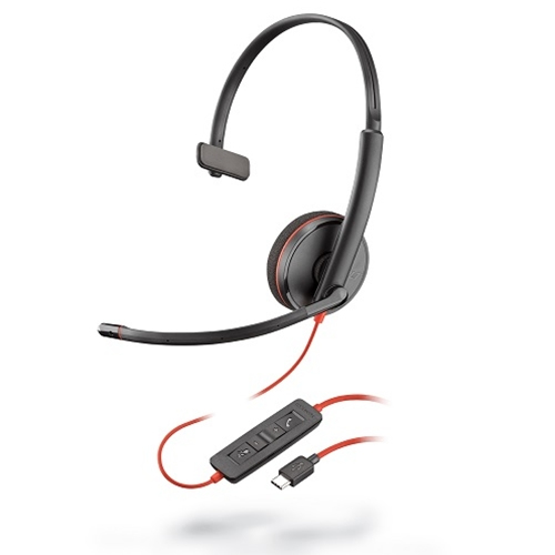 PLANTRONICS 209748-101 BLACKWIRE 3210, USB, A2DP, 20 - 20000HZ