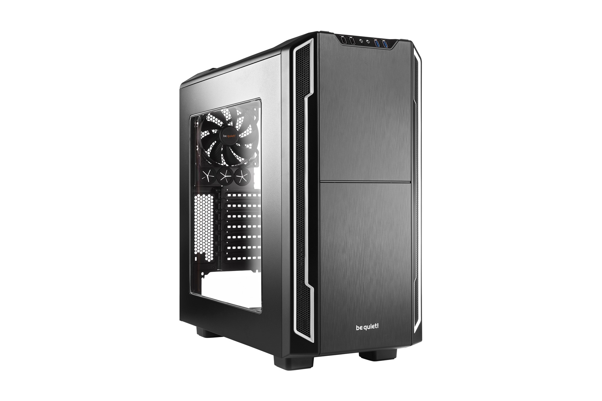 BE QUIET! BGW07 SILENT BASE 600 DESKTOP BLACK,SILVER COMPUTER CASE