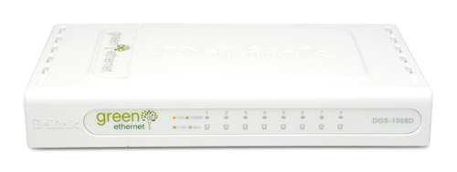 D-LINK 8-PORT 10/100/1000MBPS GIGABIT SWITCH UNMANAGED NETWORK