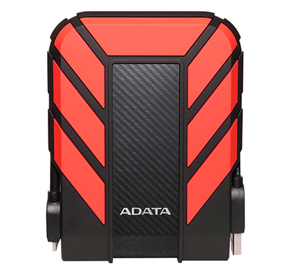 ADATA HD710 PRO 2000GB BLACK, RED EXTERNAL HARD DRIVE