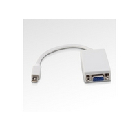 MICROCONNECT MDPVGA2 MINI DISPLAYPORT-VGA M-F WHITE