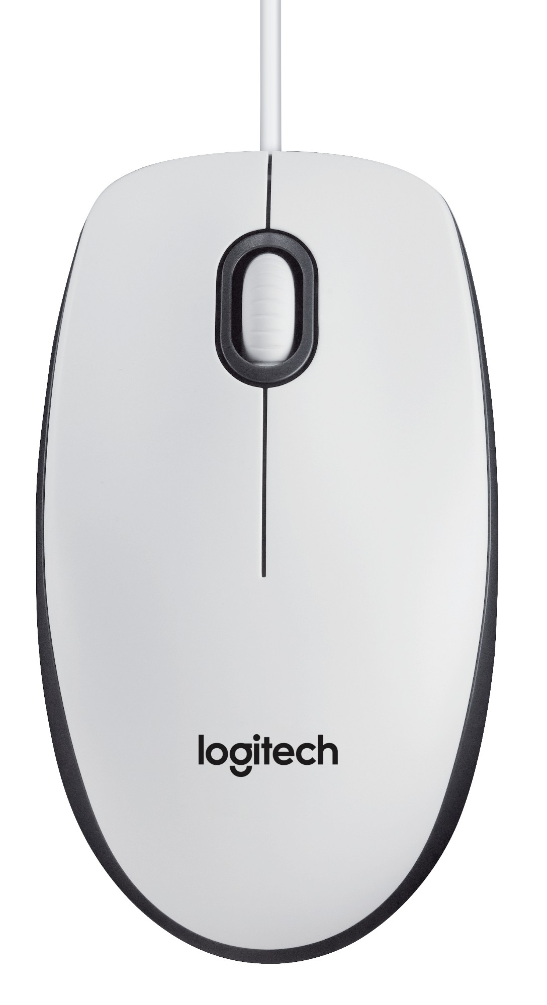 LOGITECH M100 USB OPTICAL 1000DPI AMBIDEXTROUS WHITE MICE