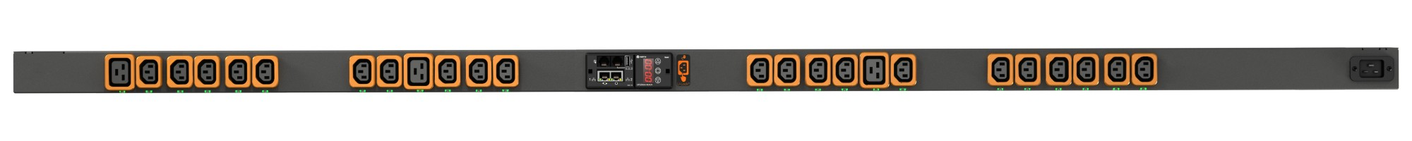 Vertiv GEIST RPDU SWITCHED 0U INPC20 230V 16A OUTP (21)C13 power distribution unit (PDU) Black 24 AC outlet(s)