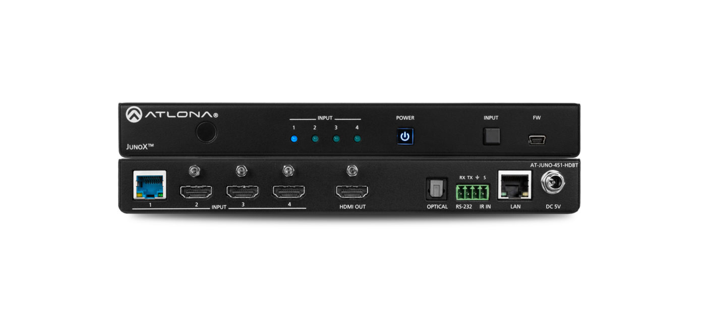 Atlona AT-JUNO-451-HDBT HDMI video switch