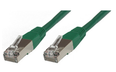 MICROCONNECT STP620G 20M CAT6 F/UTP (FTP) GREEN NETWORKING CABLE