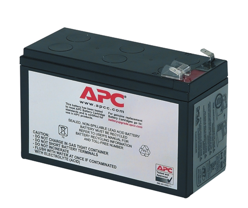 APC BATTERY CARTRIDGE REPLACEMENT #17 SEALED LEAD ACID (VRLA) RECHARGEABLE