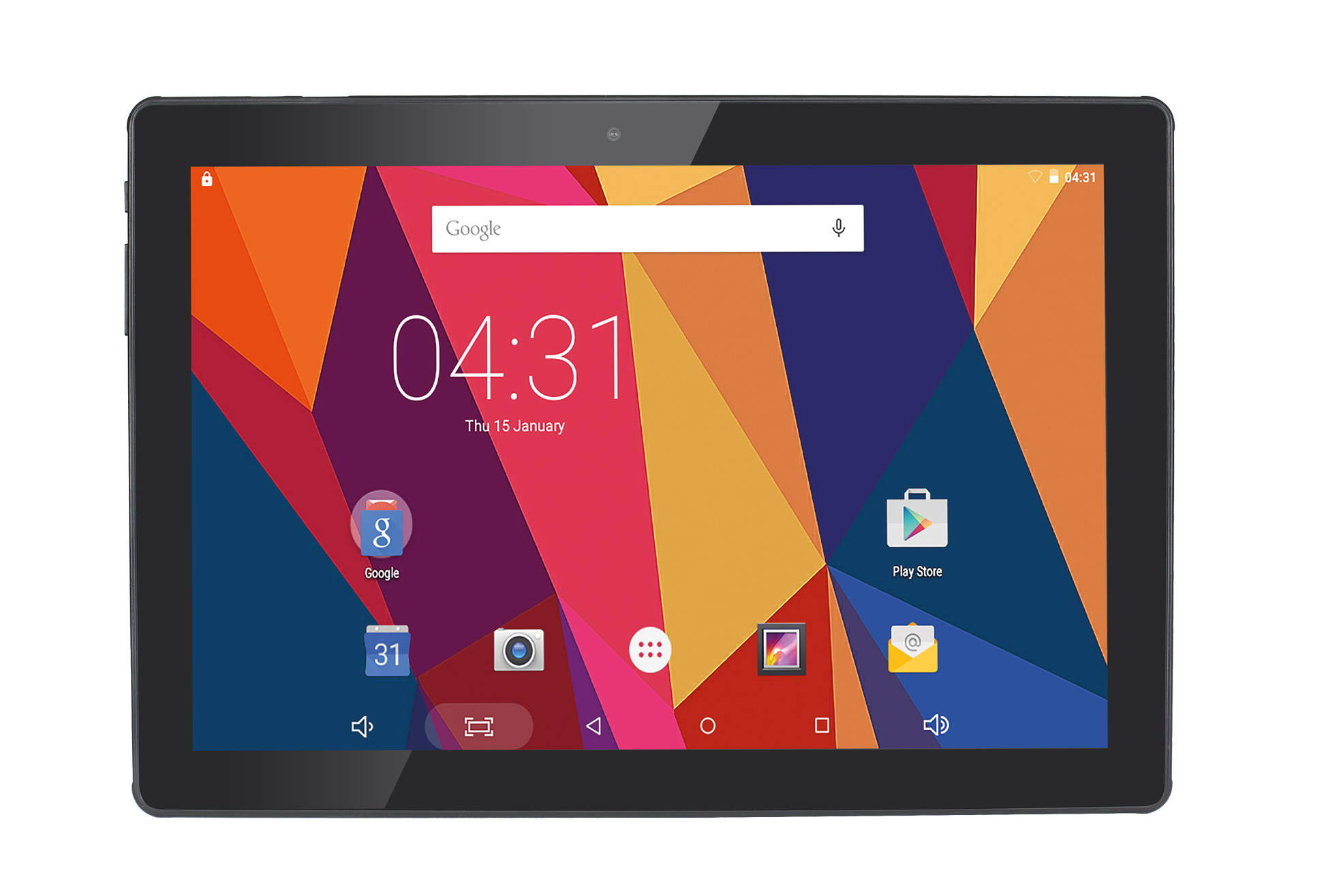 HANNSPREE SN1ATP1B HANNSPAD 101 HERCULES 16GB BLACK TABLET