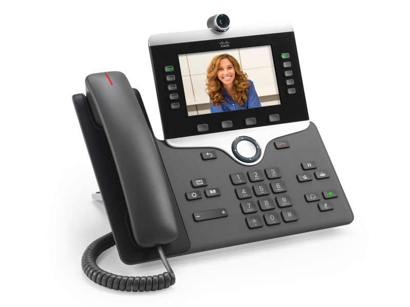 CISCO CP-8865-K9= IP PHONE 8865 WIRED HANDSET WI-FI CHARCOAL