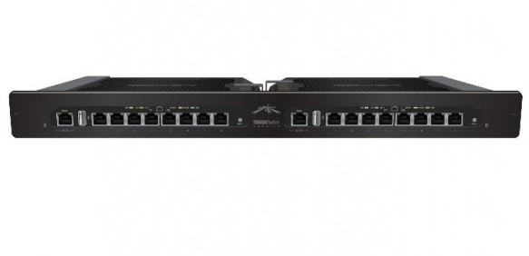 UBIQUITI NETWORKS TS-16-CARRIER - 16X GIGABIT POE, 300W, 1U