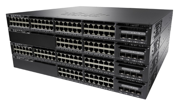 CISCO WS-C3650-48TS-L CATALYST MANAGED L3 GIGABIT ETHERNET 1U BLACK NETWORK SWITCH