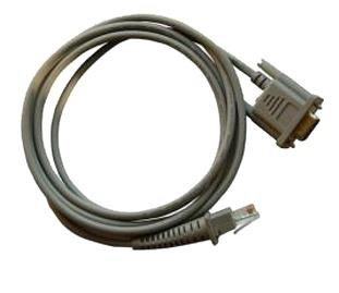 DATALOGIC 90G001092 RS-232 GREY SERIAL CABLE