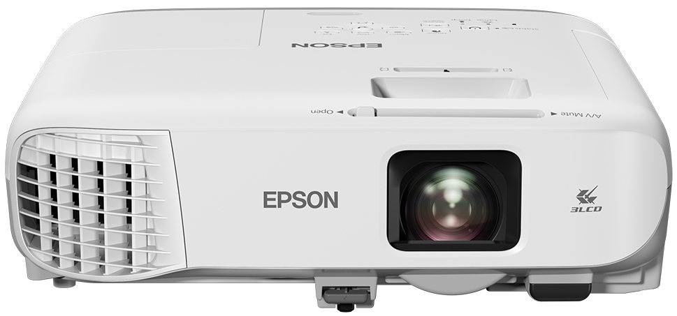 EPSON EB-980W CEILING-MOUNTED PROJECTOR 3800ANSI LUMENS 3LCD WXGA (1280X800) GREY, WHITE DATA
