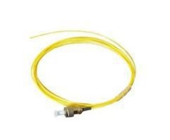 MICROCONNECT FIBFCPIG 1.5M FC/UPC OS2 YELLOW FIBER OPTIC CABLE