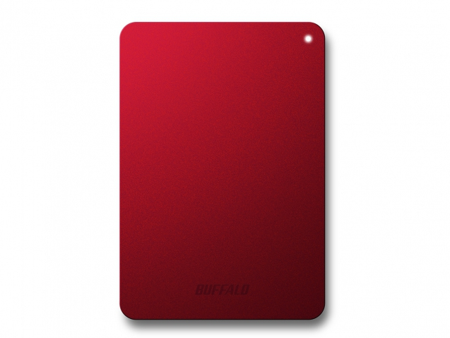 BUFFALO HD-PNF1.0U3BR-EU MINISTATION SAFE, 1TB 1000GB RED EXTERNAL HARD DRIVE