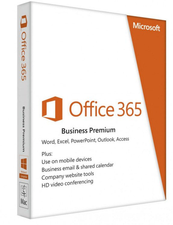 MICROSOFT 9F4-00003 OFFICE 365 BUSINESS PREMIUM, 1 YEAR, USER
