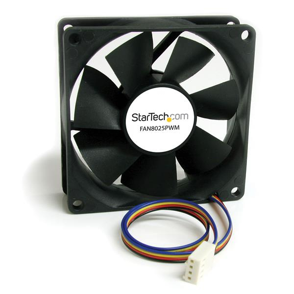 STARTECH FAN8025PWM 80X25MM COMPUTER CASE FAN WITH PWM - PULSE WIDTH MODULATION CONNECTOR COOLING 80MM