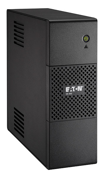 EATON POWERWARE 5S550I 5S 550I 550VA 4AC OUTLET(S) TOWER BLACK UNINTERRUPTIBLE POWER SUPPLY (UPS)