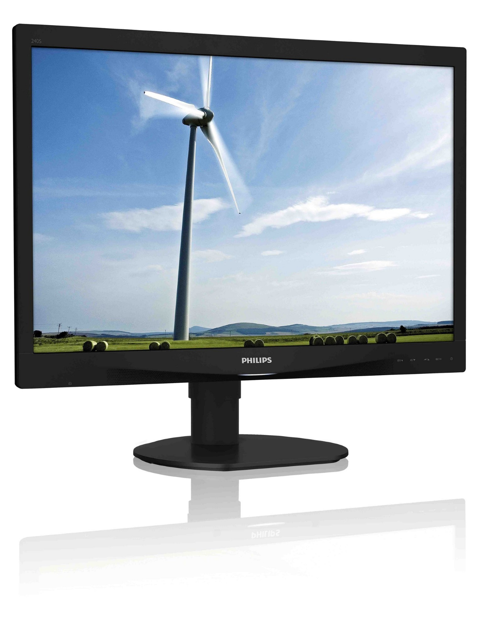 PHILIPS BRILLIANCE LCD MONITOR WITH SMARTIMAGE 240S4QYMB/00